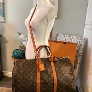 Authentic vintage Louis Vuitton keepall 50